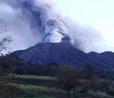 Turrialba Volcano November 2016