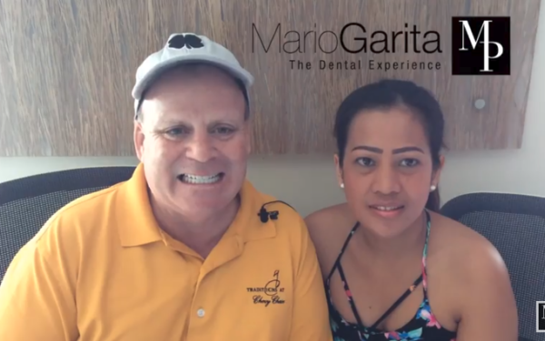 Dental restauration: Dr. Garita and his staff did a bang up job