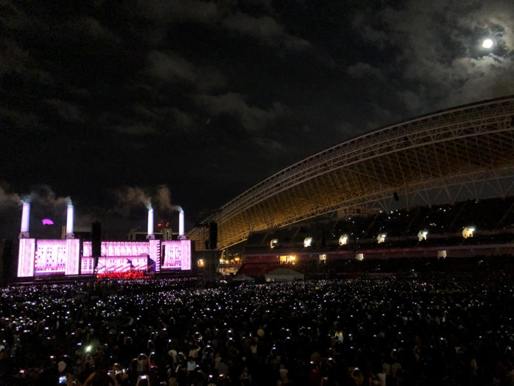 A Dental Destination Vacation in the Making: La Sabana and sorrounds. Roger Waters Pink Floyd Concert in Costa Rica National Stadium 2017.  Photo by Héctor Vides.