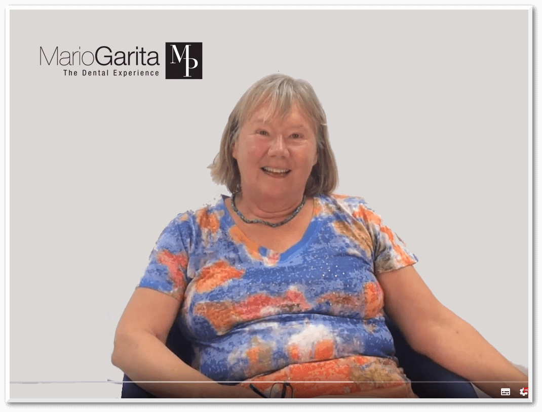Tina Crossfield from Canada talks about her experience at Doctor Mario Garita MP Dental Clinic.